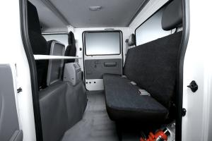 Plenty of space for 3 passengers