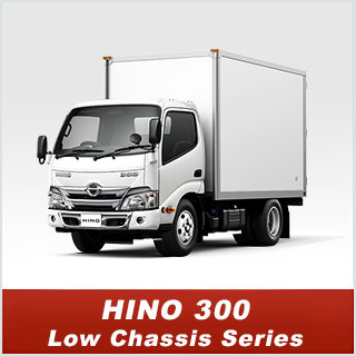 HINO300 Low Chassis